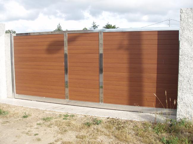 Portales para cierres de fincas cancelas modernas a medida with portales para cierres de fincas - Cierres de madera para fincas ...
