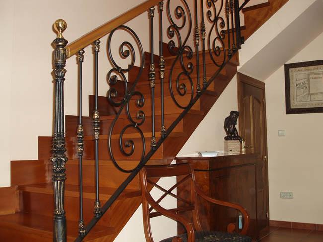 Talleres montes galer a de trabajos en cerrajer a forja - Barandas de forja para escaleras ...